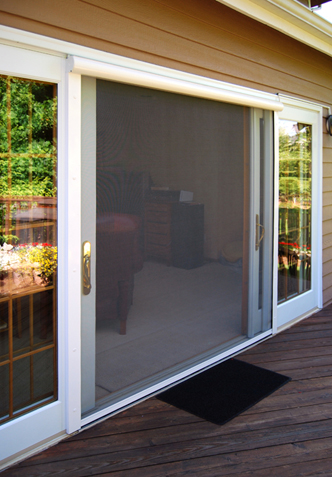 Wonderful Large Opening Retractable Screens
