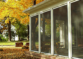 Large Opening Retractable Screens Garage Doors Patios Any Large Opening Space